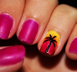 Tropical Paradise Nails!